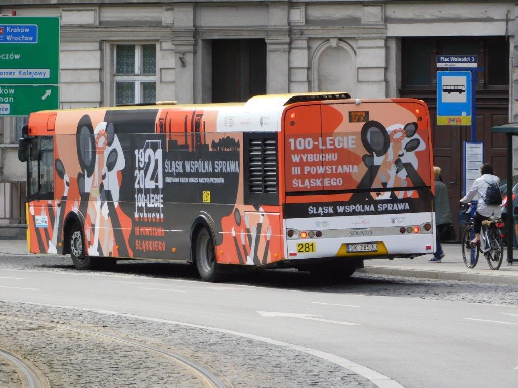 kampania na autobusach